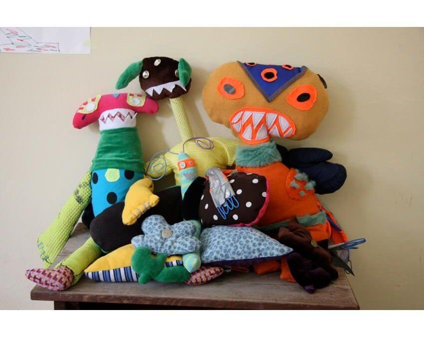 Spinntrack_ein Kunstprojekt mit VS-Kindern